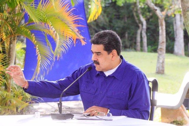 Archivo - El presidente de Venezuela, Nicolás Maduro