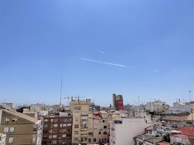 Cielo soleado este sábado en València