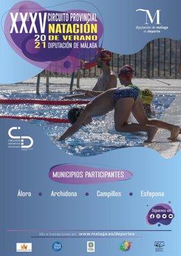 El Circuito Provincial de Natación de Verano Diputación inaugura la temporada estival la próxima semana