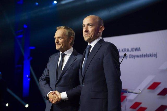 Donald Tusk, nuevo líder de Plataforma Cívica