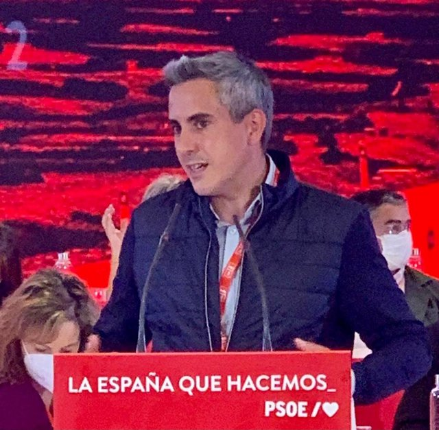 El secretario general del PSOE de Cantabria y vicepresidente regional, Pablo Zuloaga, en el Comité del PSOE