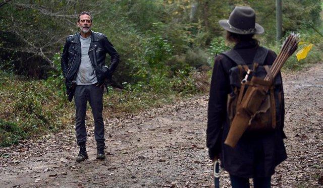 Archivo - Negan morirá para salvar a Maggie en el final de The Walking Dead, según una teoría fan