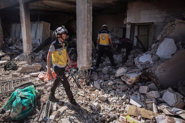 Atacs aeris en Idlib