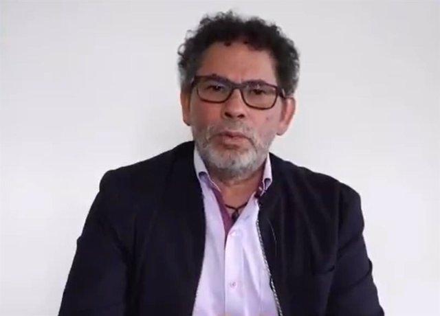Pastor Alape, dirigente del Partido Comunes, heredero de la guerrilla de las Fuerzas Armadas Revolucionarias de Colombia