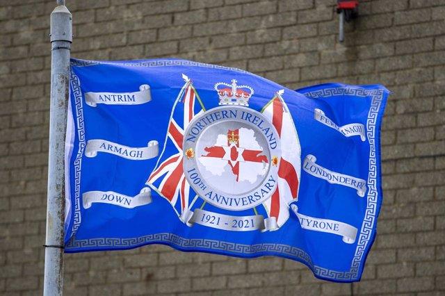 Archivo - Bandera de Irlanda del Norte