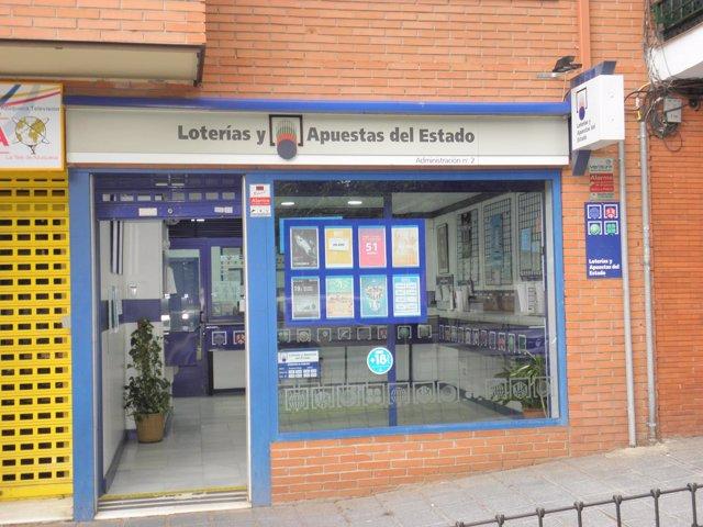 Administración de Loterías número 2 de Azuqueca de Henares