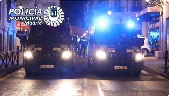 """Archivo - Semana Santa """"tranquila"""" para Policía Municipal de Madrid, con menos fiestas ilegales pero más multas por toque de queda"""