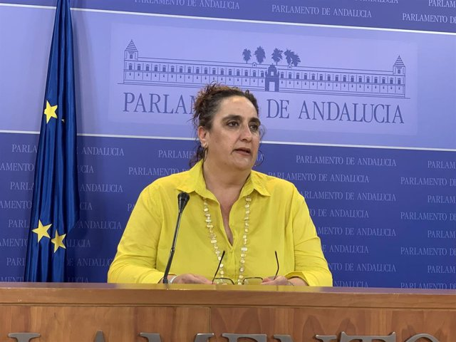 La diputada autonómica no adscrita Ángela Aguilera, en una imagen de archivo.