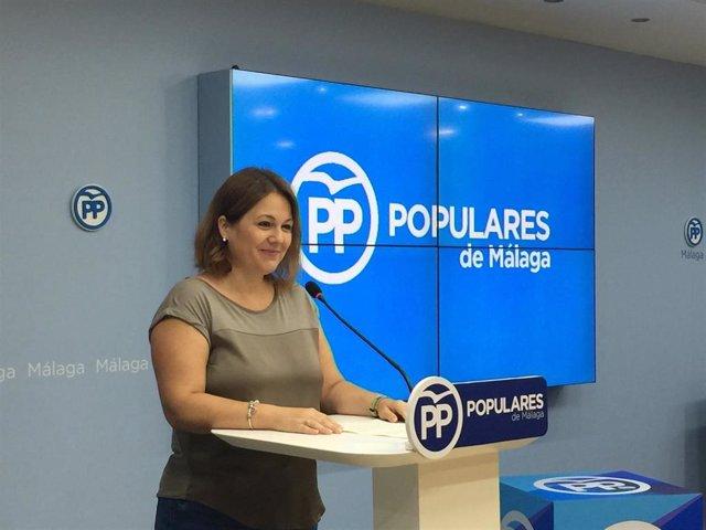 Archivo - Natacha Rivas, vicesecretaria de Acción Territorial del PP de Málaga.