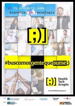Nace Health Tech Aragón, un nuevo programa de emprendimiento en investigación y tecnologías de la salud.