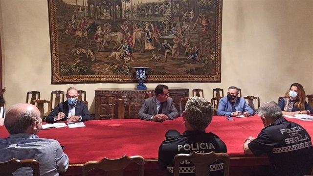 Ayuntamiento crea una mesa específica del Cecop para el Real Alcázar