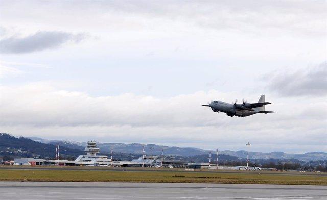 Archivo - Arxivo - Imatge d'arxiu d'un C-130