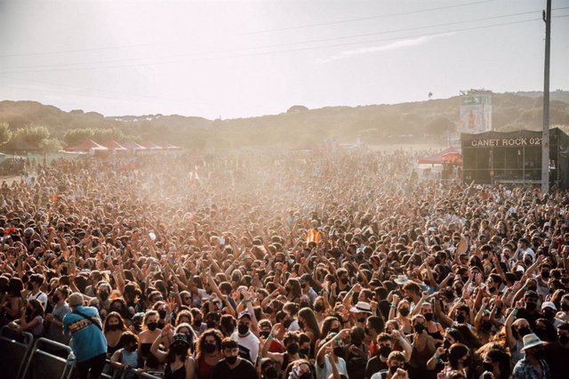 Imatge del festival Canet Rock 2021 (Barcelona)