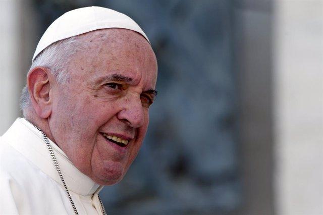 Archivo - El papa Francesc I en una imatge d'arxiu