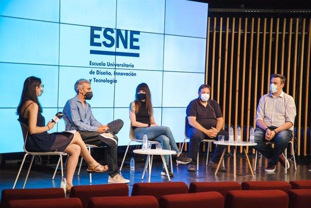 Coloquio 'Más allá del ocio: el futuro de los videojuegos y su tecnología', organizado en Madrid por ESNE en colaboración con Europa Press