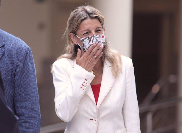 Arxiu - La ministra de Treball i Economia Social, Yolanda Díaz