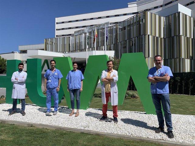 Investigadores del Hospital Virgen Macarena