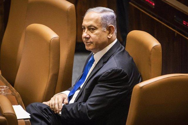 El ex primer ministro de Israel Benjamin Netanyahu