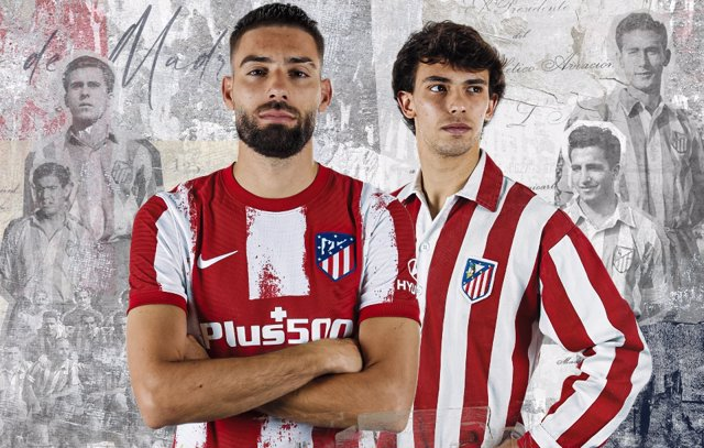 El Atlético de Madrid recuerda el 75 aniversario de la actual denominación en su nueva equipación