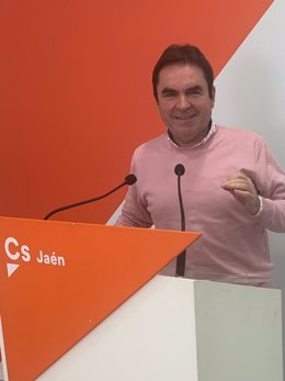 Archivo - El coordinador provincial de Cs en Jaén, Miguel Moreno