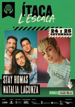 Natalia Lacunza Y Stay Homas Cerrarán El IX Festival Ítaca De Girona.