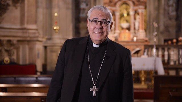 Archivo - El arzobispo de Granada, Javier Martínez