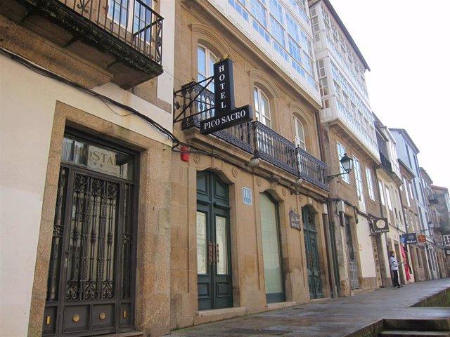 Archivo - Hotel en Santiago ocupación turística hotelera turismo pernoctaciones