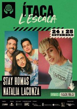 Natalia Lacunza i Stay Homas Tancaran el IX Festival Ítaca de Girona