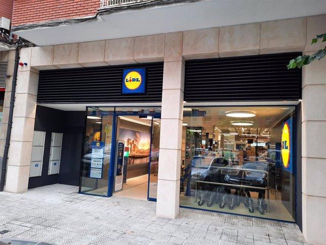 Nueva tienda LIDL en Bilbao