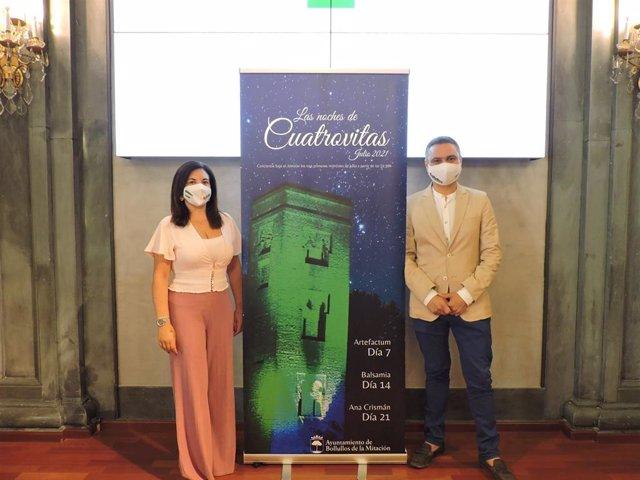 Acto de presentación del grupo de conciertos 'Noches de Cuatrovitas' organizado por el Ayuntamiento de Bollullos de la Mitación