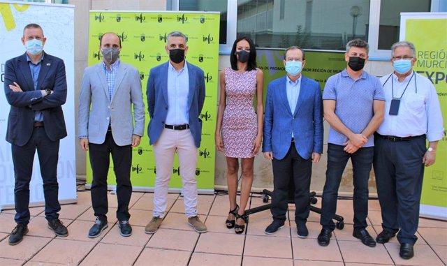 La consejera Valle Miguélez participó en la presentación de las empresas murcianas que asistirán a la feria internacional de alimentación y bebidas Anuga, que se celebra en Colonia (Alemania).