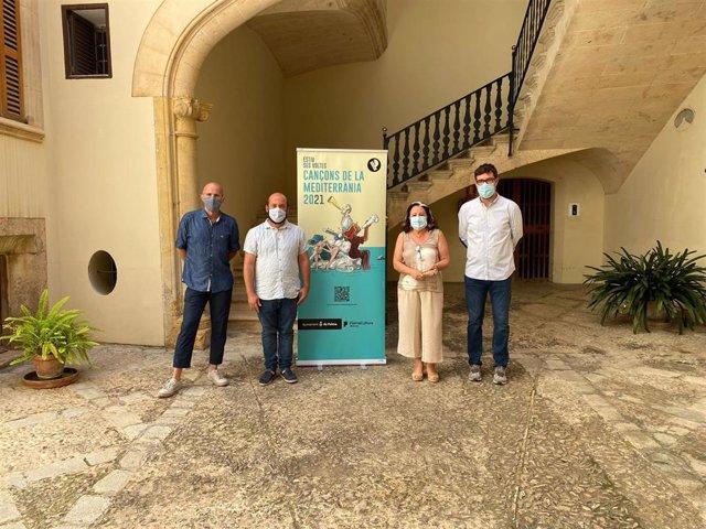 Presentación de la 35ª edición del Festival Cançons de la Mediterrània