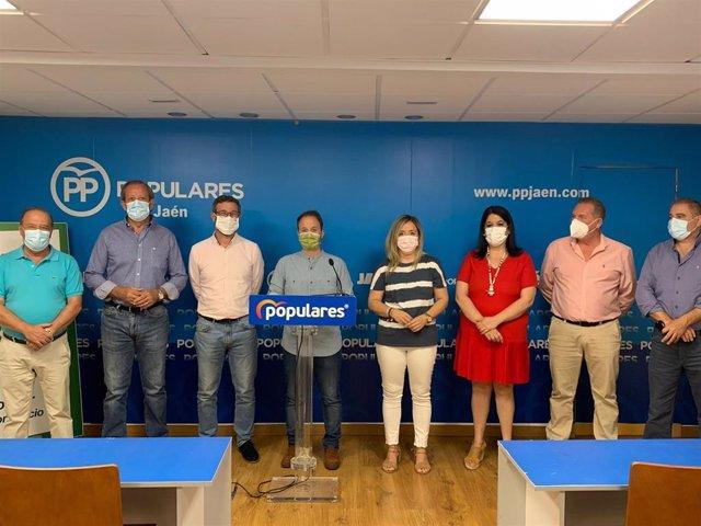 El PP hace balance de la primera mitad del mandato en Diputación.