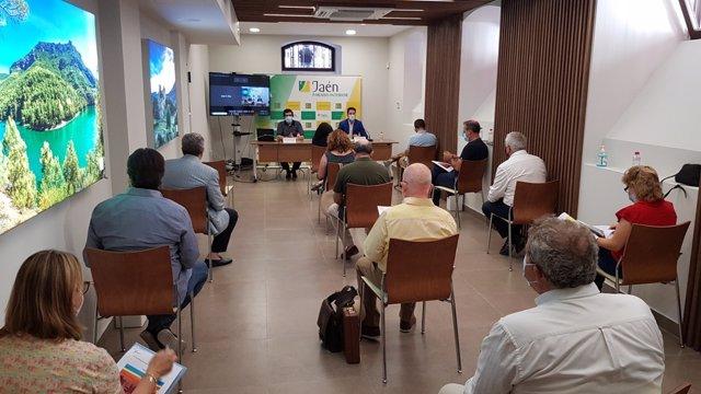 REunión de la comisión de Promoción del Consejo Provincial de Turismo