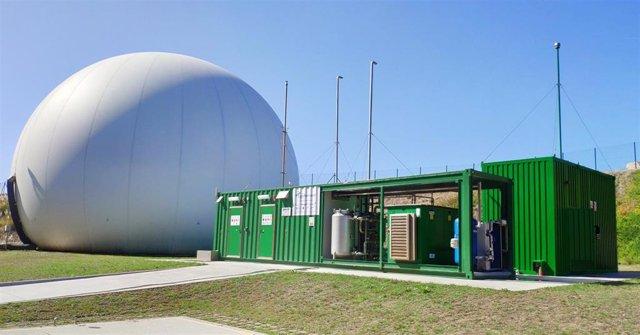 Archivo - Imagen recurso de creación de hidrógeno verde.