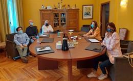 Representantes de la Dirección General de Derechos de las Personas con Discapacidad y FEDER.