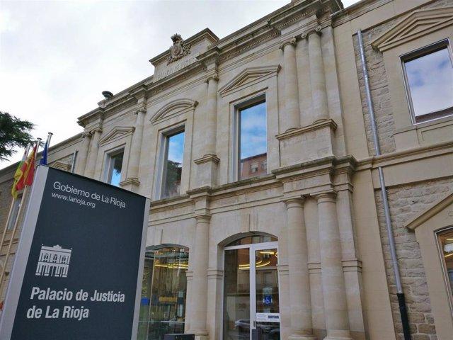 Archivo - Juzgados Logroño, palacio de Justicia de La Rioja