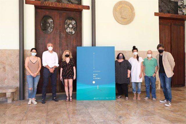Presentación de la programación de 'Nits de Cinema' en La Nau de la Universitat de València