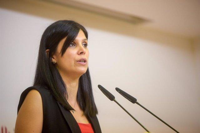 La secretària general adjunta i portaveu d'ERC, Marta Vilalta