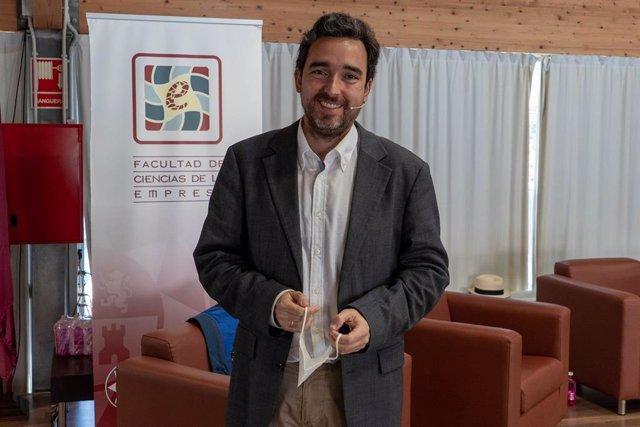 Juan García Bermejo, investigador del grupo Hidr@m de I+D+i en Ingeniería Hidráulica, Marítima y Medio Ambiental