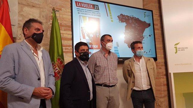 Presentación de las etapas de La Vuelta a España que pasarán por Jaén.