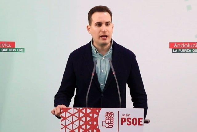 Archivo - El secretario de Política Municipal del PSOE de Jaén, José Latorre.