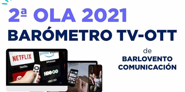 Estudio Barómetro TV-OTT de Barlovento Comunicación
