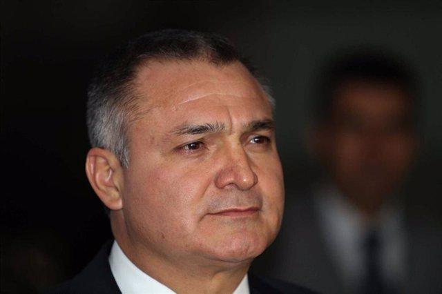 Archivo - Imagen del exdirector de Seguridad Pública de México Genaro García Luna.