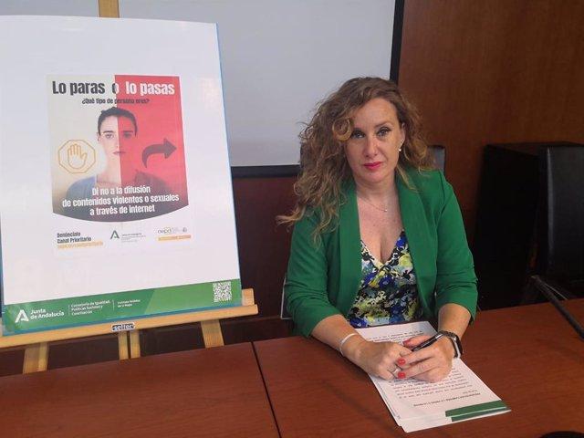 La asesora de programa del IAM en Granada, Ruth Martos.