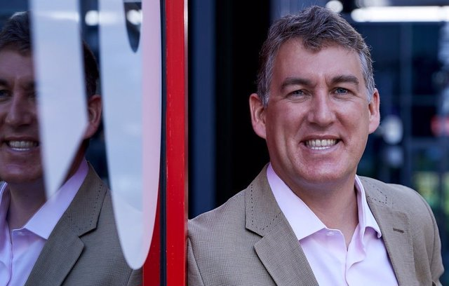 El consejero delegado de Vodafone España, Colman Deegan.