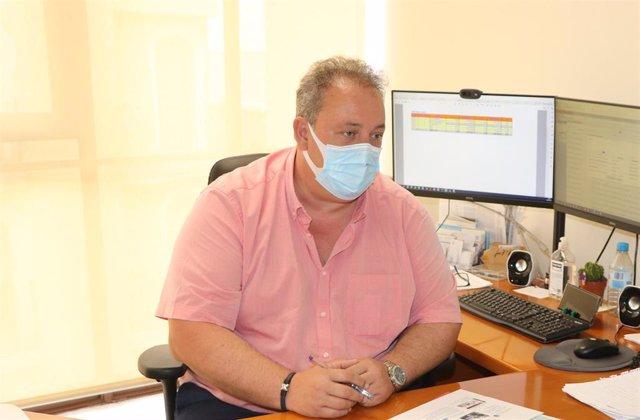 El portavoz adjunto del Ayuntamiento de El Ejido, Francisco Rivera (PP)