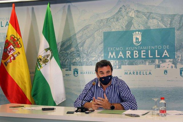 Félix Romero, portavoz del gobierno de Marbella (Málaga)