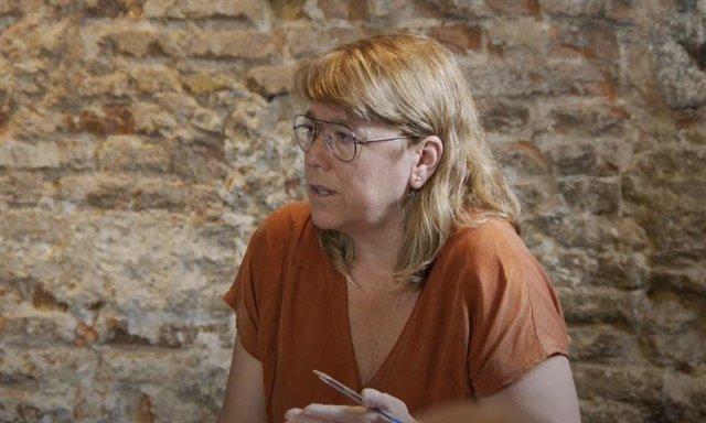 La consellera de Cultura de la Generalitat, Natàlia Garriga