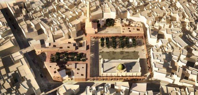 Imagen del proyecto premiado de arquitectos de la UPCT para reconstruir Mosul